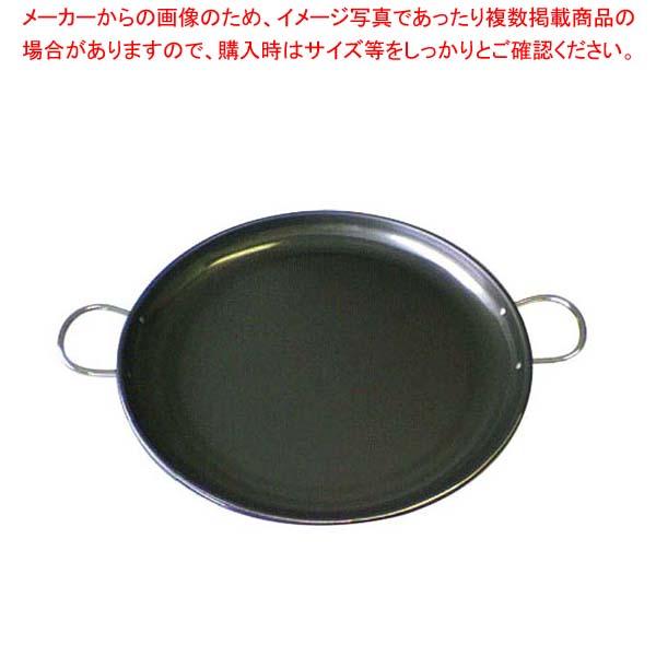 【まとめ買い10個セット品】 鉄 パエリア鍋 パートII 24cm【 鉄 パエリア鍋 フライパン 業務用 】