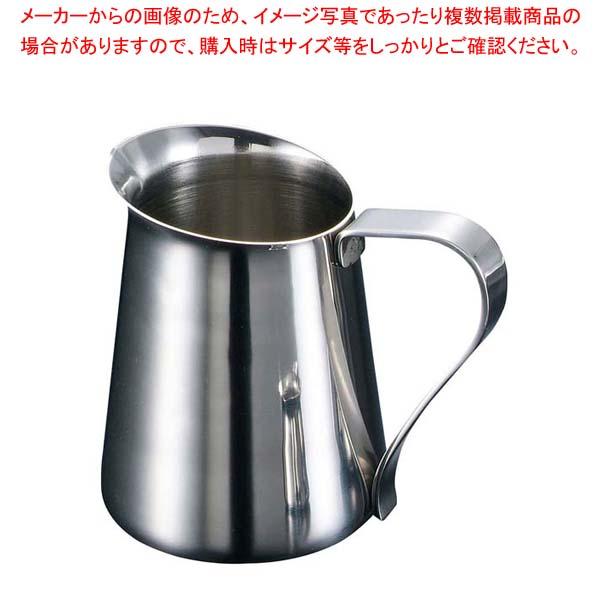【まとめ買い10個セット品】 EBM 18-8 ミルクポット兼用ウォーターポット 600cc【 カフェ・サービス用品・トレー 】