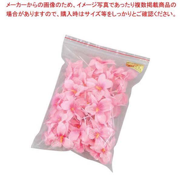 【まとめ買い10個セット品】 フラワーピック #308 ピンク(50本・袋入)
