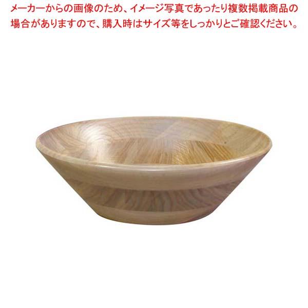 【まとめ買い10個セット品】 ホワイトアッシュ サラダボール(ナチュラルカラー)130017 φ300【 和・洋・中 食器 】