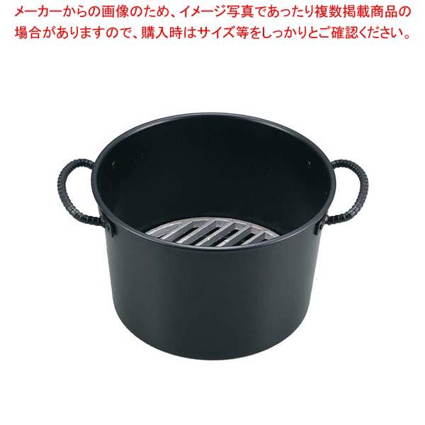 【まとめ買い10個セット品】 鉄 両手 ジャンボ火起し 30cm【 焼アミ 】