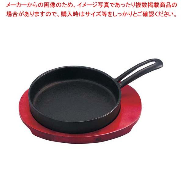【まとめ買い10個セット品】 IK 鉄 モーニングパン 101541【 卓上鍋・焼物用品 】
