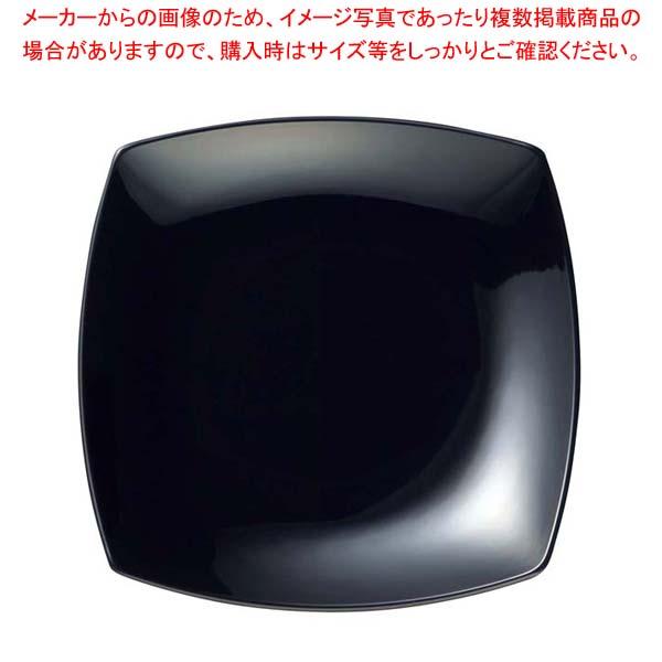 【まとめ買い10個セット品】 メラミン 菜津味菜皿 SS-21 ブラック