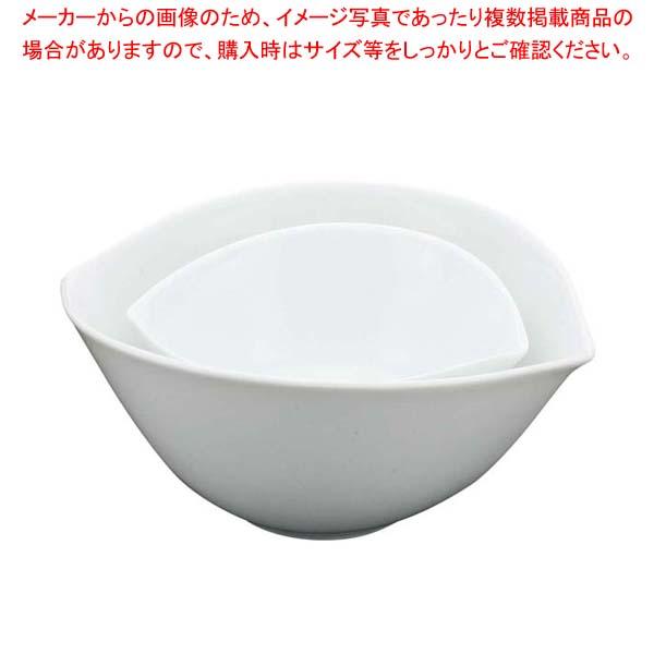 【まとめ買い10個セット品】 白変形 リップボール(M)B12-6【 和・洋・中 食器 】