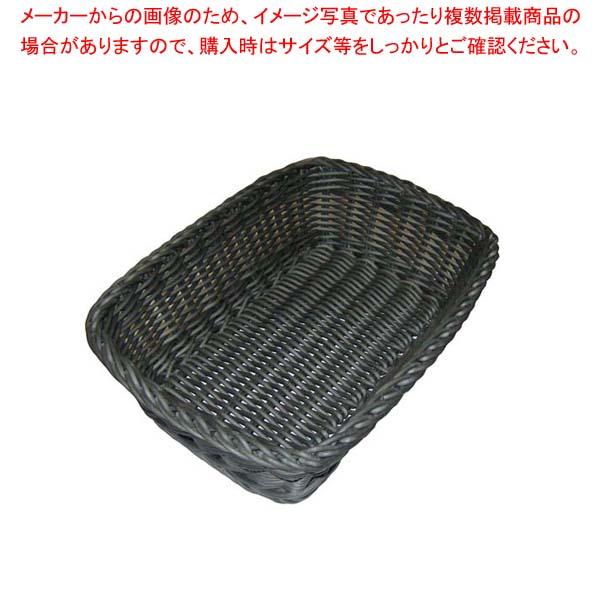 【まとめ買い10個セット品】 ザリーン社 PP製 スクウェアバスケット グレー 200085
