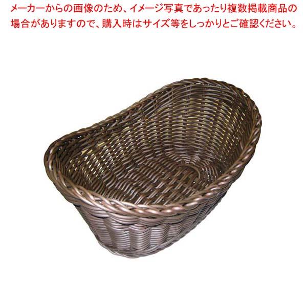 【まとめ買い10個セット品】 ザリーン社 PP製 ウイングバスケット ブラウン 105061