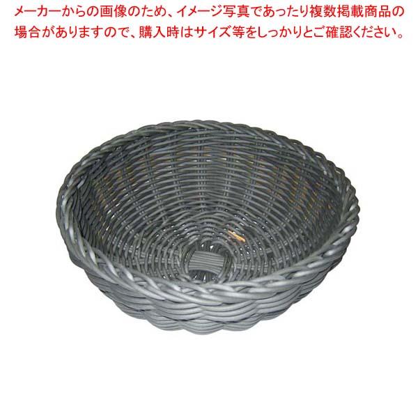【まとめ買い10個セット品】 ザリーン社 PP製 ボールバスケット グレー 103085