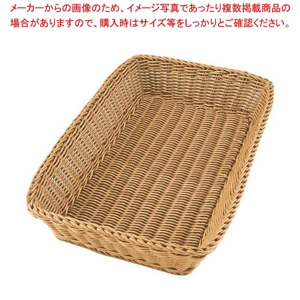 【まとめ買い10個セット品】 ザリーン カクバスケット 1/1サイズ ベージュ(041)【 ディスプレイ用品 】