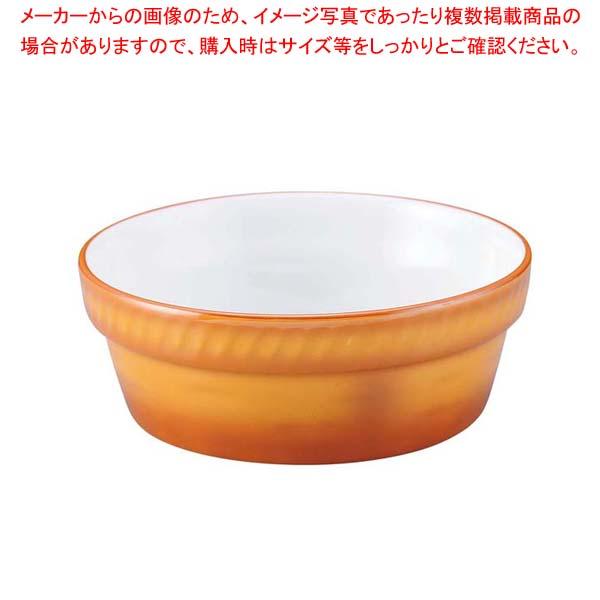 【まとめ買い10個セット品】 シェーンバルド 丸型 オーブンディッシュ 9278215(3011-15)茶【 オーブンウェア 】