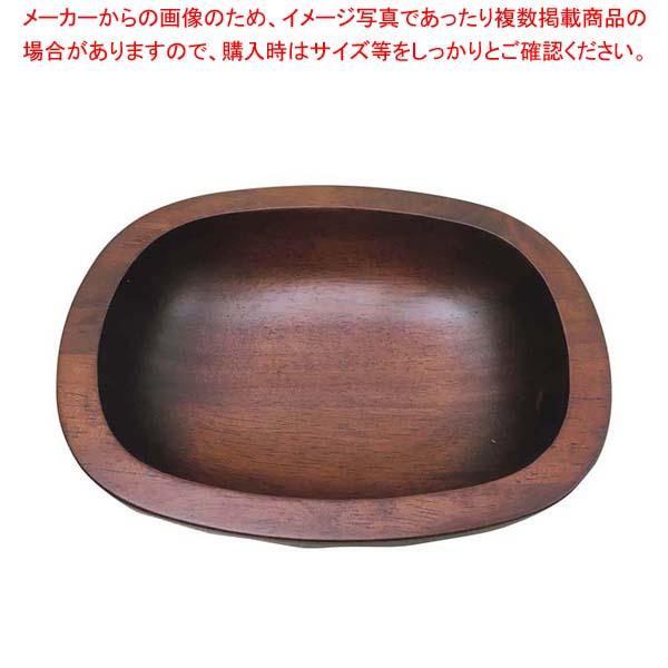 【まとめ買い10個セット品】 木製 荒彫り多目的ボール 深型 45025【 ビュッフェ関連 】