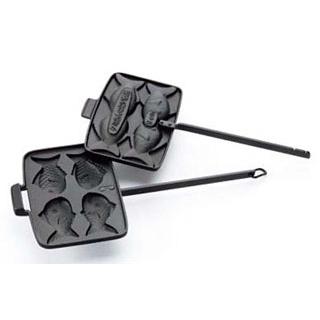 【まとめ買い10個セット品】 盛栄堂 タミさんのたい焼器 F-463 9cm【 お好み焼・たこ焼・鉄板焼関連 】