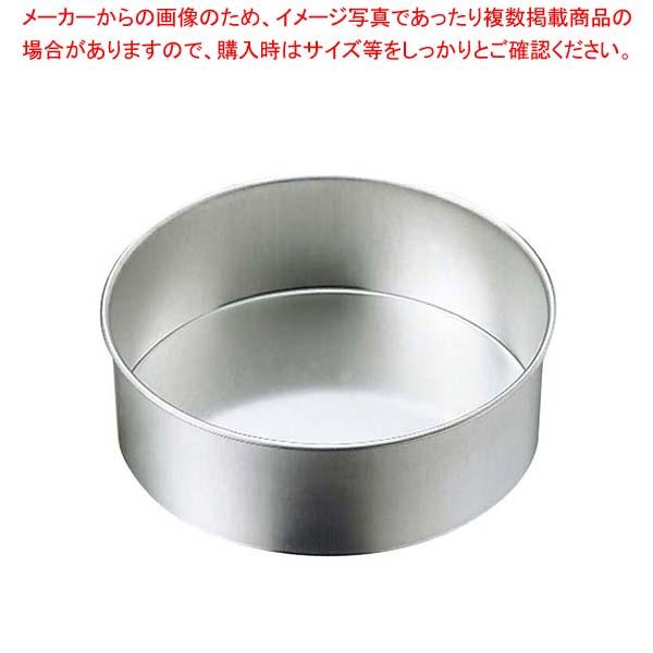 【まとめ買い10個セット品】 ブリキ デコレーション型 共底 30cm