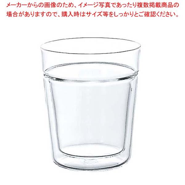 【まとめ買い10個セット品】 ハリオ ツインロックグラス TRG-260【 グラス・酒器 】