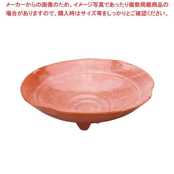 【まとめ買い10個セット品】 アルセラム強化食器 赤楽平向付 EC2-69