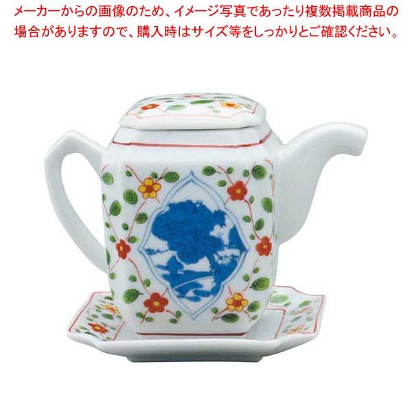【まとめ買い10個セット品】 アルセラム強化食器 赤絵山水汁次 B16-1
