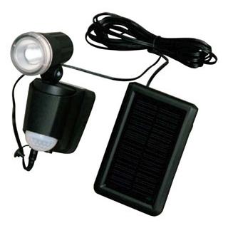 【まとめ買い10個セット品】 ソーラー式LEDセンサーライト SSL-1SS 黒