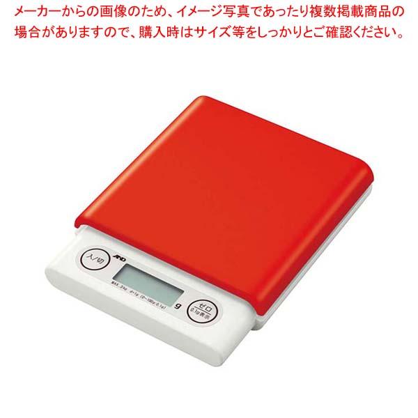 【まとめ買い10個セット品】 A&D ホームスケール 3kg UH3201 レッド【 ハカリ 】