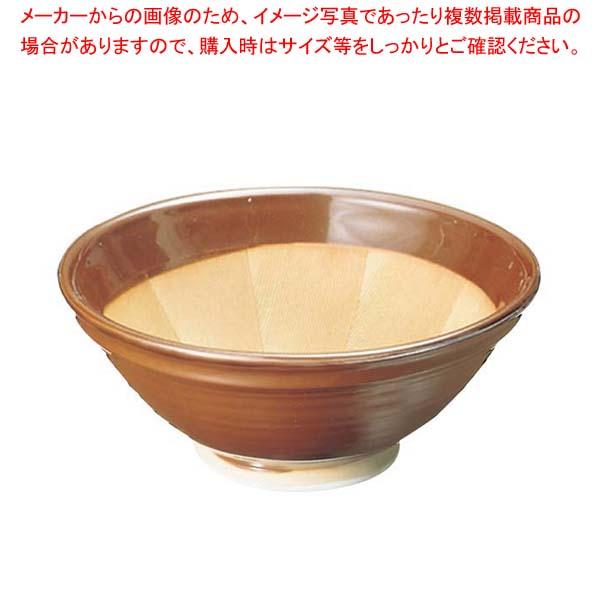 【まとめ買い10個セット品】 すり鉢 駄知焼(箱入)13号【 だしこし・みそこし 】