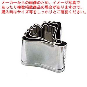 【まとめ買い10個セット品】 EBM 18-8 本職用厚口 抜型 3Pcs 銀杏