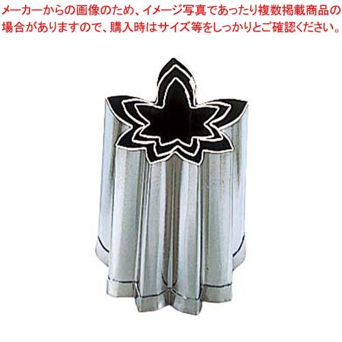 【まとめ買い10個セット品】 EBM 18-8 手造抜型 3Pcs 秋 紅葉