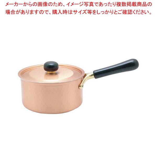 【まとめ買い10個セット品】 銅IHアンティック 片手鍋 IH-101 18cm【 鍋全般 】