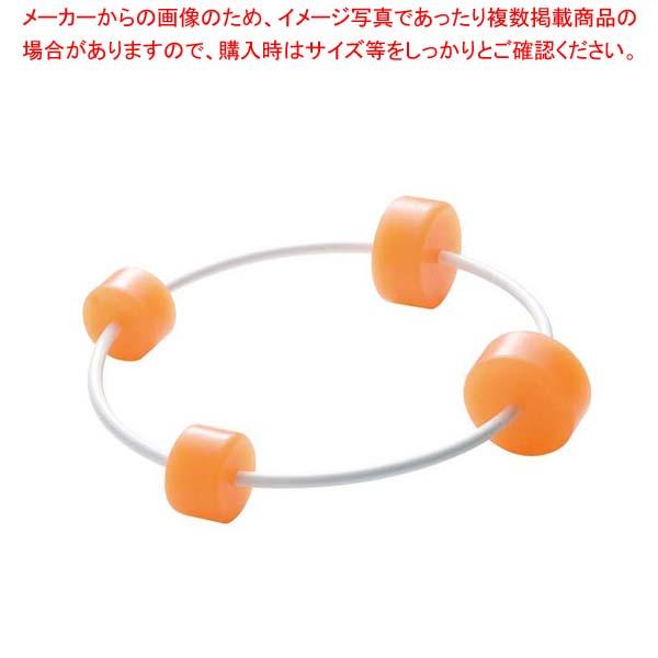 【まとめ買い10個セット品】 キッチンボールスタンド オレンジ