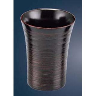 【まとめ買い10個セット品】 木製糸締ビールカップ(曙)22-42-7