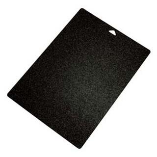 【まとめ買い10個セット品】 ミューファン 抗菌三層まな板シート ブラックK-1526MK