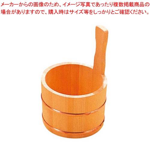 【まとめ買い10個セット品】 さわら 片手 湯桶 銅タガ D-33-03