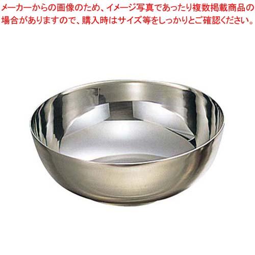 【まとめ買い10個セット品】 EBM 18-8 冷麺器「プレーン」M φ190×H71