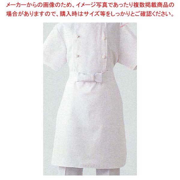 【まとめ買い10個セット品】 調理用前掛 TT8700-0 M