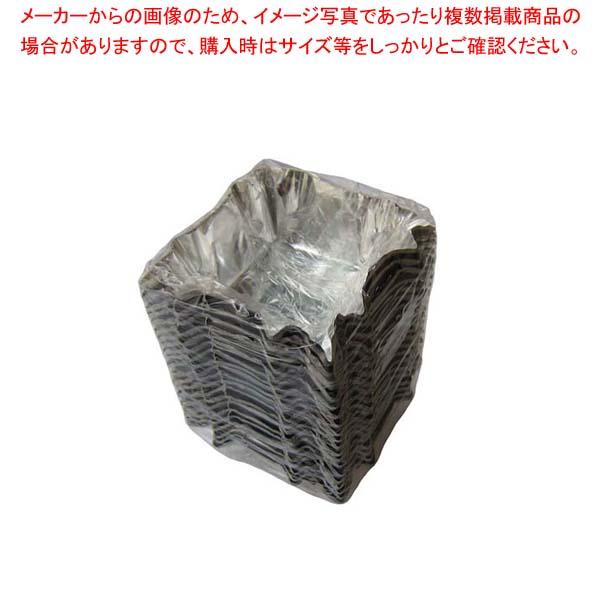 【まとめ買い10個セット品】 アルミ ホイルケース(スエルケース)四角型バラ(500枚包)【 製菓・ベーカリー用品 】