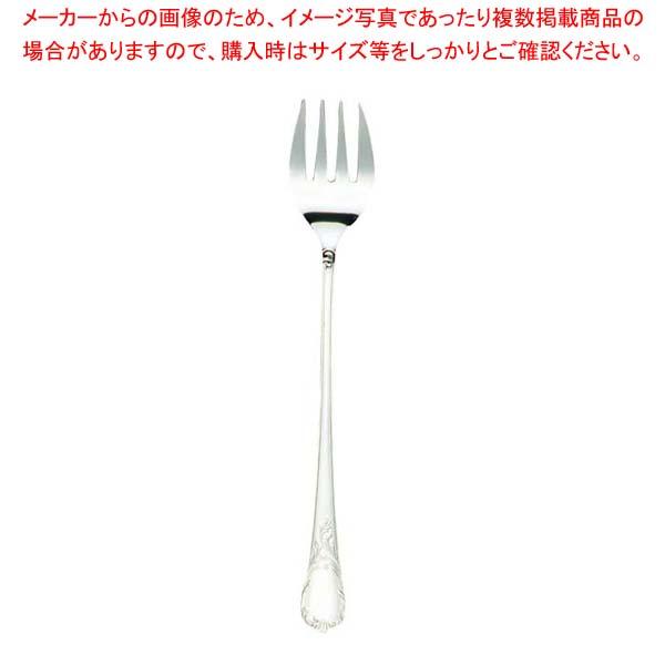 【まとめ買い10個セット品】 EBM 18-8 ブローニュ チューフィングサービスフォーク【 カトラリー・箸 】