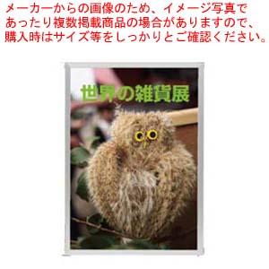 【まとめ買い10個セット品】 ハメパネ シルバー 53721 B4S【 店舗備品・インテリア 】