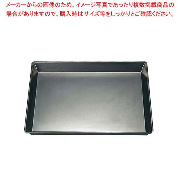 【まとめ買い10個セット品】 鉄 深型 天板 8枚取 430×340×H40【 製菓・ベーカリー用品 】