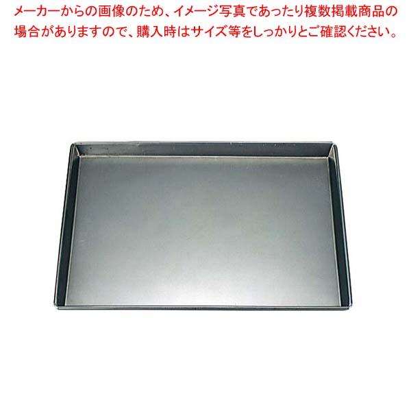 【まとめ買い10個セット品】 鉄 浅型 天板 8枚取 445×355×H25【 製菓・ベーカリー用品 】