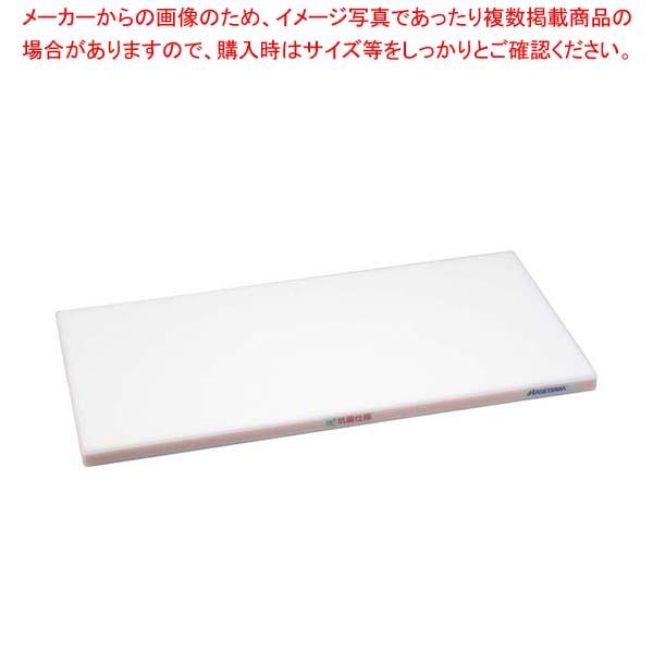【まとめ買い10個セット品】 抗菌かるがるまな板 SDK 600×350×20 ホワイト/桃線【 まな板 カッティングボード 業務用 業務用まな板 】