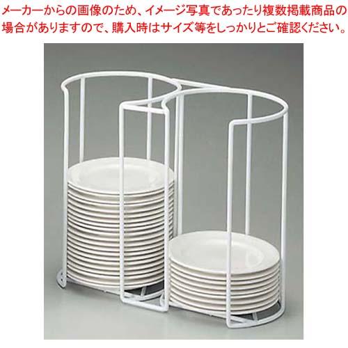 【まとめ買い10個セット品】 EBM プレートカセットホルダー 19cm用 二連式【 ビュッフェ・宴会 】