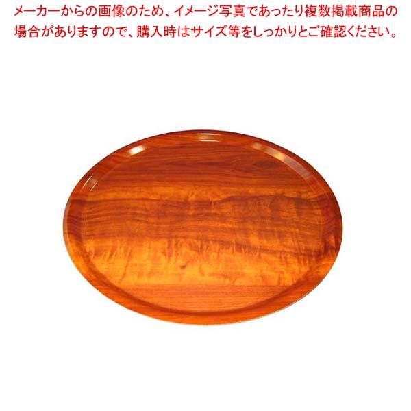 【まとめ買い10個セット品】 ユーロラミネートNSトレイ丸 MY4300E76ウォルナッツ