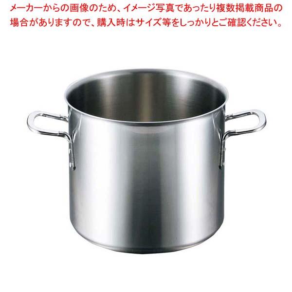 江部松商事 / EBM ビストロ 三層クラッド 寸胴鍋 33cm 蓋無【 IH・ガス兼用鍋 】