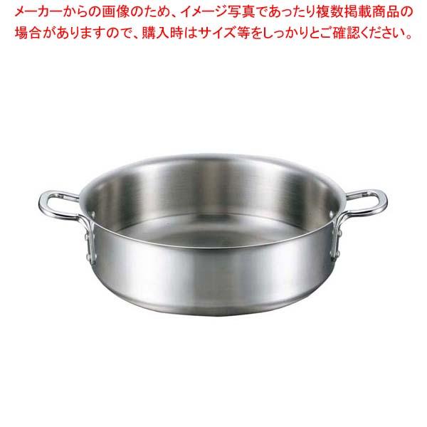 【まとめ買い10個セット品】 EBM ビストロ 三層クラッド 外輪鍋 30cm 蓋無【 IH・ガス兼用鍋 】