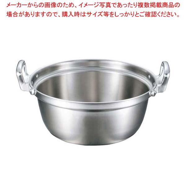 【まとめ買い10個セット品】 EBM ビストロ 三層クラッド 料理鍋 33cm【 IH・ガス兼用鍋 】