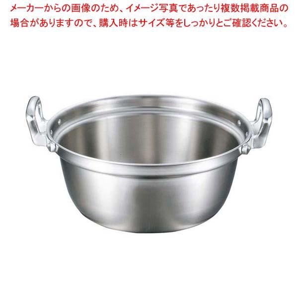 【まとめ買い10個セット品】 EBM ビストロ 三層クラッド 料理鍋 36cm【 IH・ガス兼用鍋 】