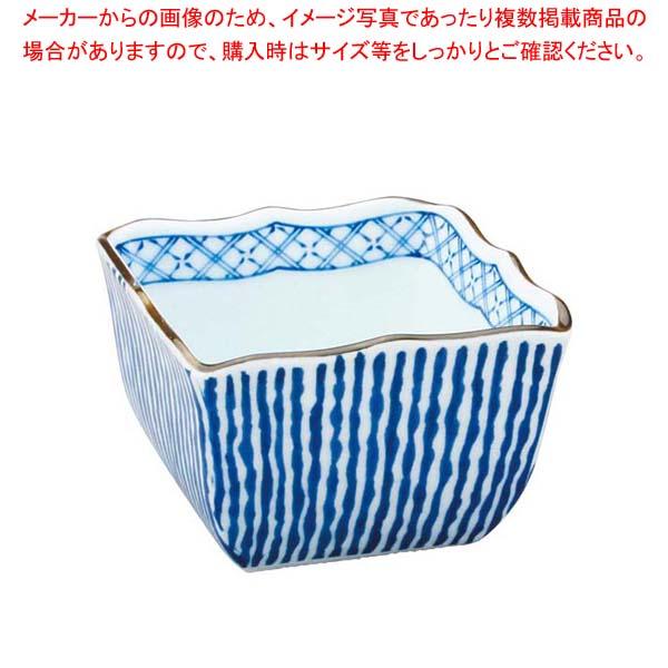 【まとめ買い10個セット品】 アルセラム強化食器 波十草角鉢 EC5-45