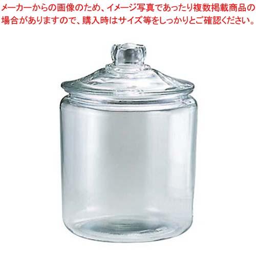 【まとめ買い10個セット品】 ガラス ストレートジャー 349-H(3.8L)【 ストックポット・保存容器 】