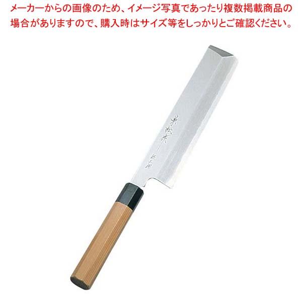 兼松作 銀三鋼 薄刃庖丁 19.5cm sale