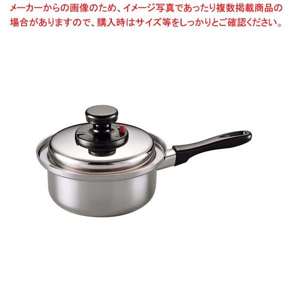 【まとめ買い10個セット品】 18-10(電磁対応)エクストラ 片手鍋 16cm【 鍋全般 】