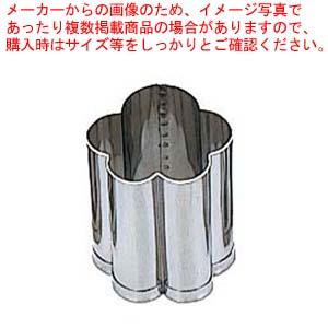 【まとめ買い10個セット品】 EBM 18-8 手造り業務用 抜型 5Pcs 春 ヨコ梅