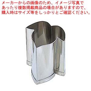 【まとめ買い10個セット品】 EBM 18-8 手造り業務用 抜型 5Pcs 夏 朝顔の葉
