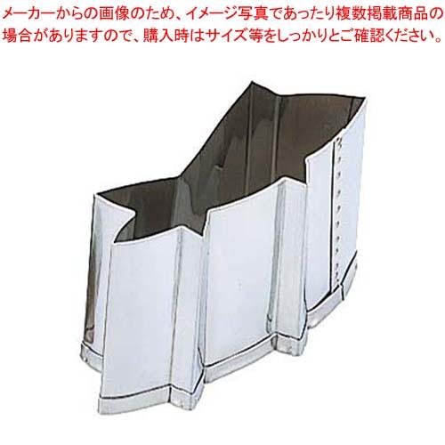 【まとめ買い10個セット品】 EBM 18-8 手造り業務用 抜型 5Pcs 夏 鮎